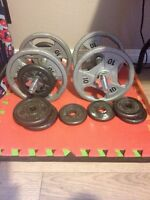 Free weights for sale