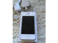 iPhone 4S White 16GB - Please read description. Vodafone.