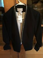 H&M embellished blazer - size 4 - new with tags