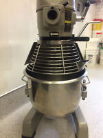 Globe Mixer with Meat Grinder Attachment
