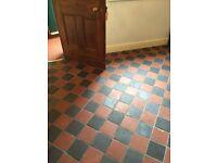 Used Floor Quarry Tiles. Approx 9 sq meters.