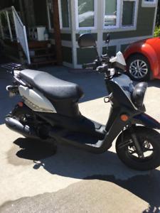 2016 Yamaha scooter