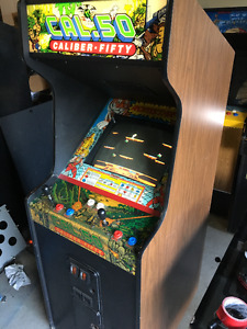 60 IN 1 ARCADE CABINET MS PACMAN GALAGA DONKEY KONG MAN CAVE