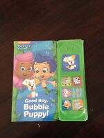 Bubble Guppies Button Book