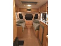 Compass 4 berth fixed bed awning