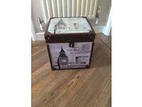 Beautiful Wooden Storage London Cube
