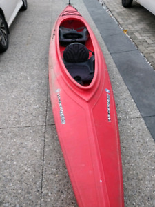 Wilderness systems Pamlico160t tandem kayak for sale.