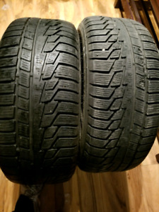 two Nokian 225/50R17 tires