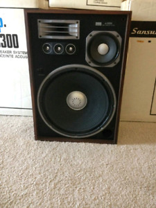 Sansui SP8300 Speakers