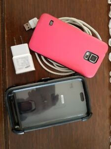 Samsung Galaxy S5 with Otter box case