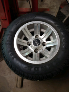 205/50/10 Golf Cart Rims & Tires