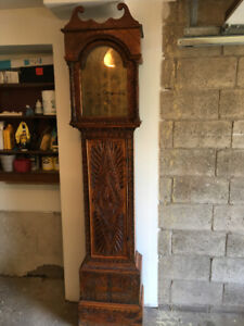 Grandfather Original Antique  Salisbury Clock