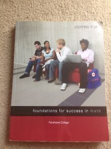 Fanshawe - foundations for success in math