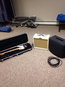 Fender Telecaster ( MIM ) and Fender Blues Junior