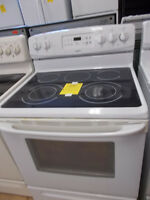 Kenmore ceran top stove with 90 day warranty. $399.