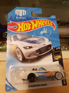 Hot wheels Mad Mike 15 Mazda Miata