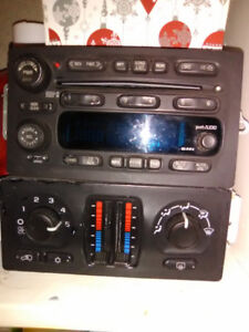 Stereo and heat control for GMC