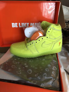"Air Jordan 1 "" Lemon-Lime"""