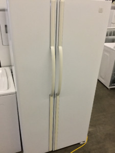 "Double Door White Magic Chef 32"" Fridge"