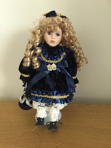 "PORCELAIN 12"" DOLL"