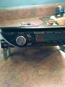 Panasonic car stereo with aux Jack
