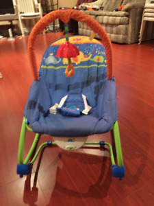 Fisher Price Bouncer - vibrates and music