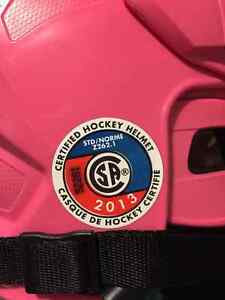 Reebok Pink Hockey Helmet Kingston Kingston Area image 3