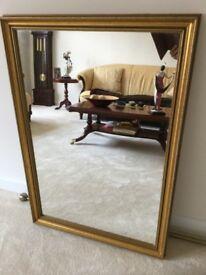 Large gilt Mirror