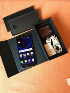 Samsung S7 32GB déverrouillé en box + accessoires  x320$