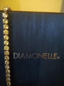 Sterling Silver Diamonelle Tennis Bracelet