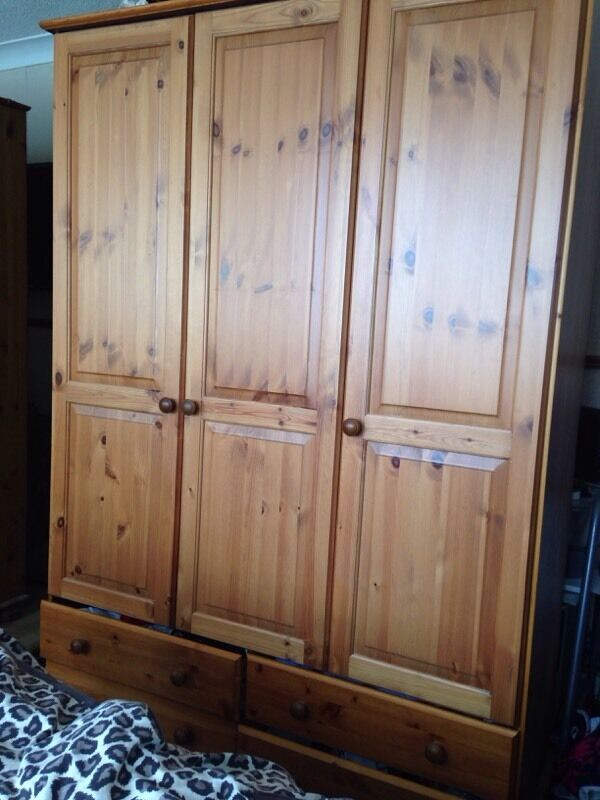 Pine wardrobe doors in kirkby in ashfield for P a furniture kirkby