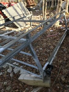 GALVANIZED HEAVY DUTY FULL SIZE TRUCK RACK PHONE CALLS ONLY