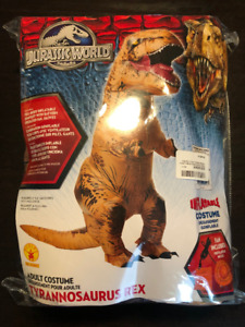 Costume Gonflable Tyrannosaurus Rex - 60$