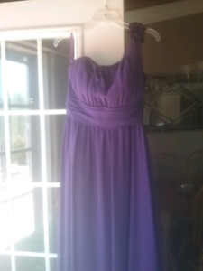Purple bridesmaid or Prom dress