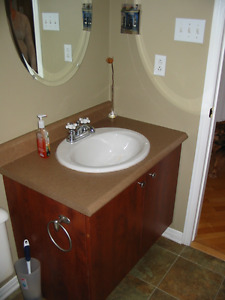 TOILET, SINK and cabinet bathroom