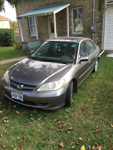 2005 Honda LX-G Sedan (As-Is)