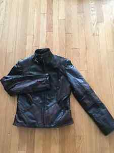 Woman's genuine leather jacket-size 1