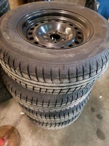 "16"" Winter Tires on Steel Rims"