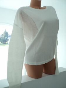 NEW BENCH WOMEN'S WHITE SWEATER TOP - TAGS $69.00 Cornwall Ontario image 4