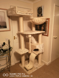 Cat TREE HOME AND PLAY 😺HOUSE