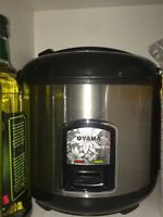 OYAMA STAINLESS RICE COOKER, JAPANESE RICE STEAMER NEW