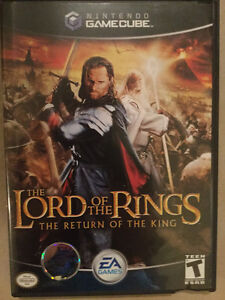 Game Cube - Lord Of The RIngs, Return of the King Windsor Region Ontario image 1