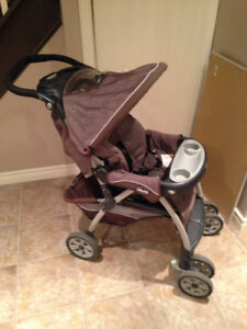 Chicco Cortina Stroller and car seat 2010