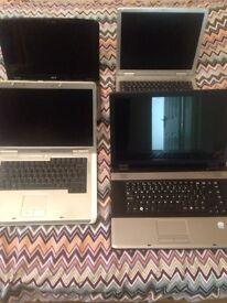 Joblot laptops for sale £55