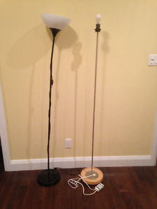 Damaged but functional IKEA floor lamps - free