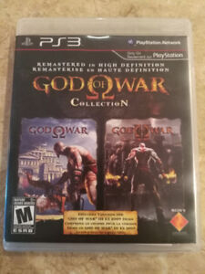 God of War and God of War 2 for PS3