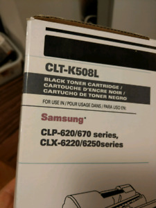 CLT-K508L toner cartridge for Samsung printer