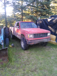 1991 chev s10 mud/ bush truck