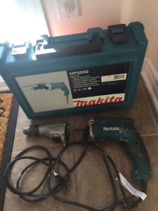 Makita Hammer Drill HP2050 for parts - pour pièces