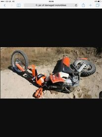 Scrap bikes wanted call or text cash waiting